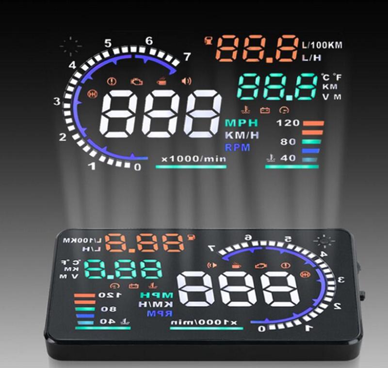 Thiết bị hiển thị thông tin lên kính ô tô HUD A8 thực sự là một thiết bị hữu dụng và cần thiết đối với chiếc xe hơi của bạn.