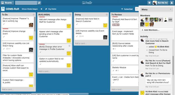 Trello.com - Phần mềm làm việc nhóm cực kỳ hiệu quả