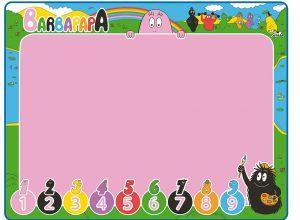 Thảm vẽ thần kỳ cho bé phù hợp cho các bé bắt đầu bước vào độ tuổi mẫu giáo