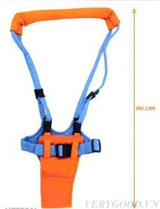 Bốn dây của sản phẩm đan chéo nhau có tác dụng phân chia đều trọng lượng cơ thể bé