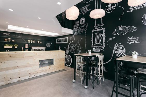 Chọn màu sơn quán cafe ý nghĩa nhất