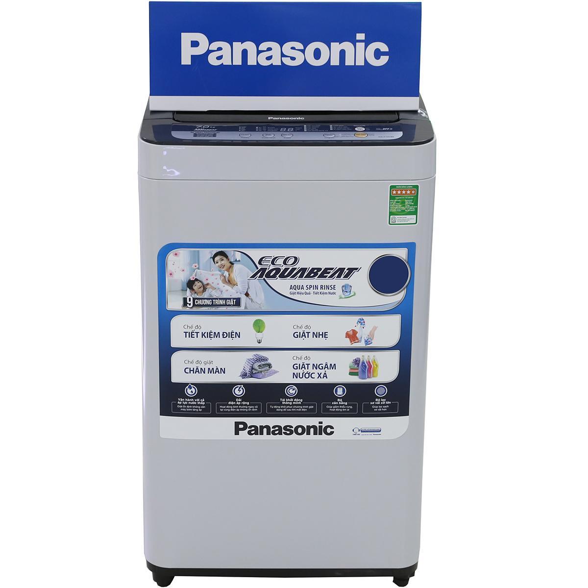 Chiếc máy giặt Panasonic xuất xứ từ Nhật Bản.