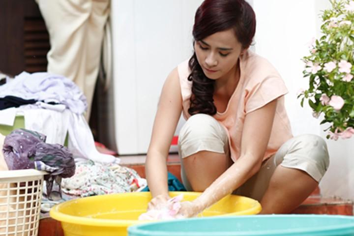 Giảm thiểu thời gian và công sức khi giặt tay