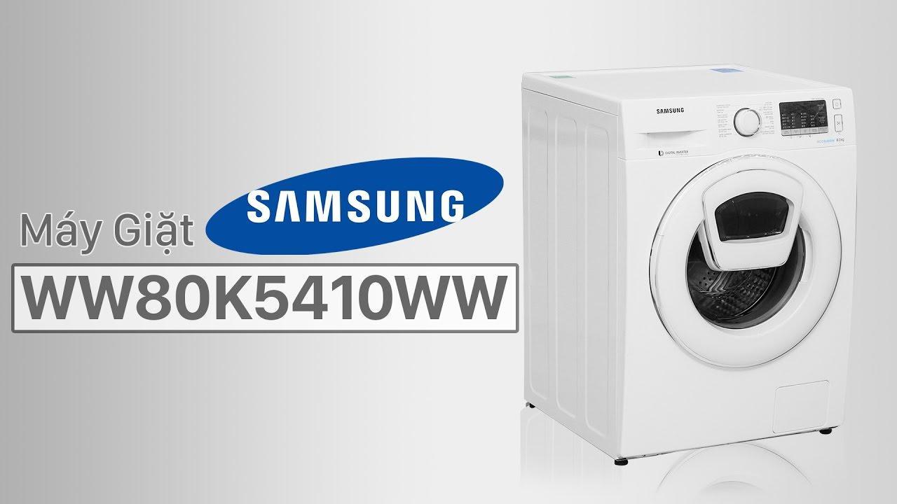 WW80K5410WW-một trong những sản phẩm được ưa chuộng đến từ Samsung