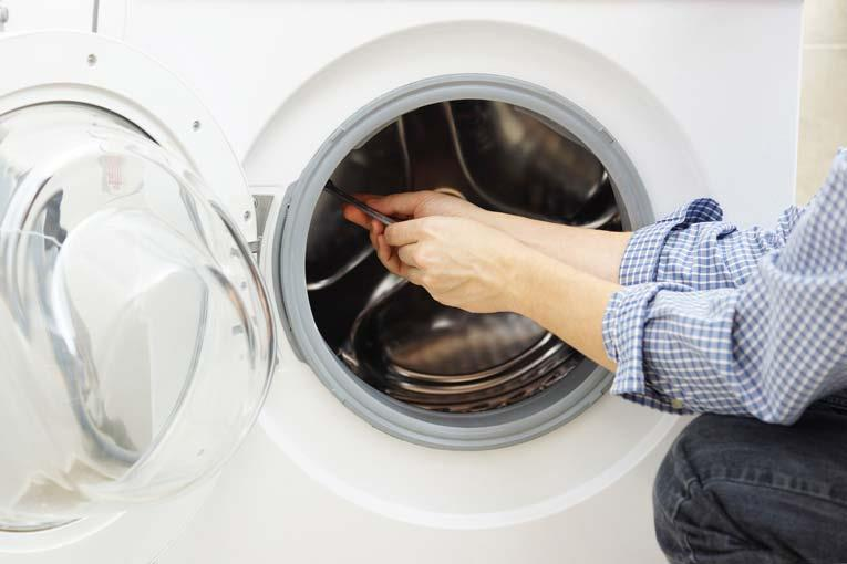 Các bộ phận khác của máy giặt cũng cần được kiểm tra thường xuyên