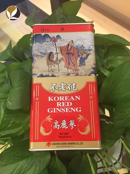 Hồng sâm củ khô Daedong 150gr