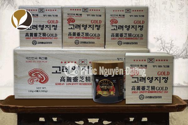 Mức giá cao linh chi Hàn Quốc tại cơ sở Phúc Nguyên Đường