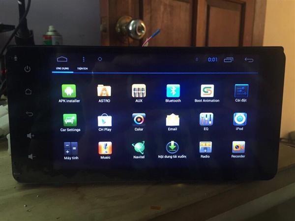 Sản phẩm DVD Android cho xe ô tô đang rất phát triển