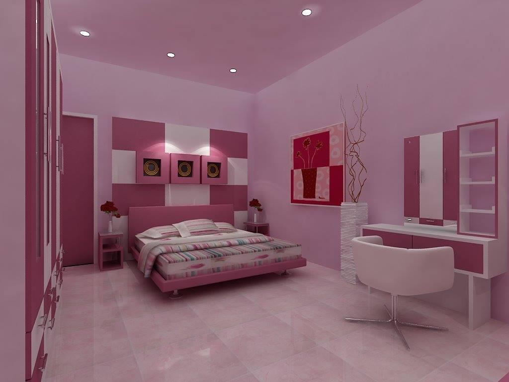 Trang trí phòng cưới với gam màu hồng đẹp