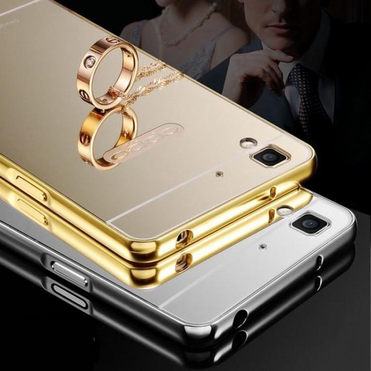 Ốp tráng gương sang chảnh cho dòng điện thoại Oppo R7