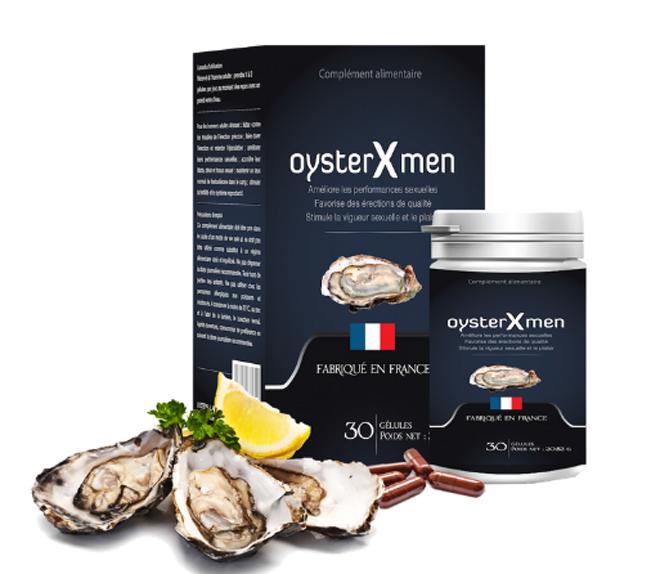 Sản phẩm Oyster Xmen chiết xuất thảo dược tự nhiên, an toàn